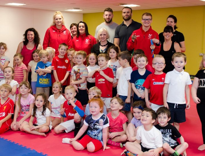 Official Opening of Sobell Leisure Centre