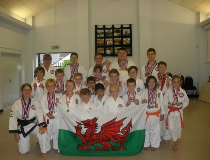 Aberdare Tang Soo Do European Championhsips medallists