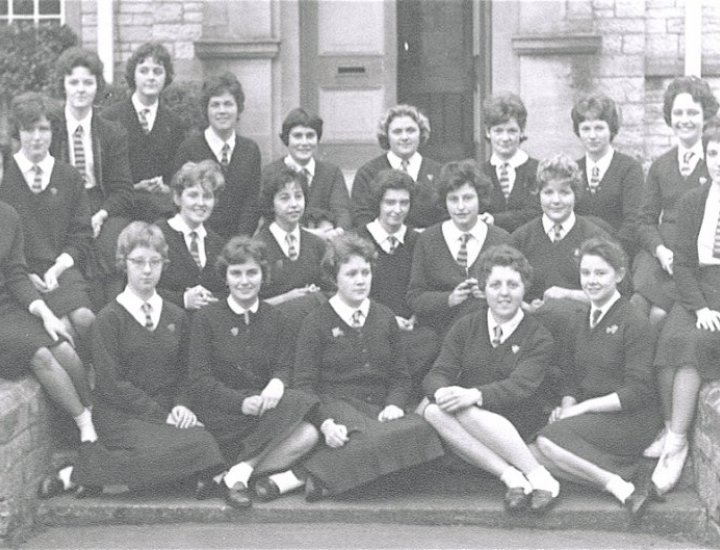 Aberdare Girls Grammar School Prefects, 1962