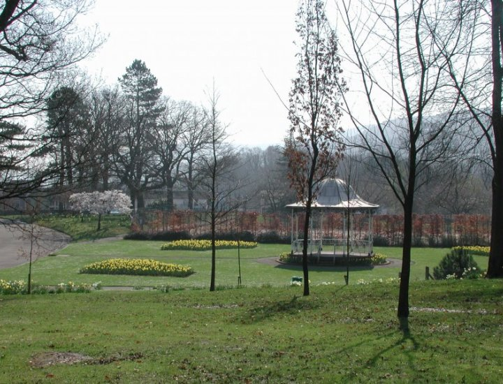Aberdare Park Band Stand