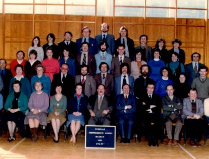 Ferndale Comprehensive Teaching Staff, 1981