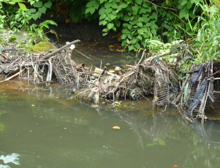 Pollution in the River Cynon