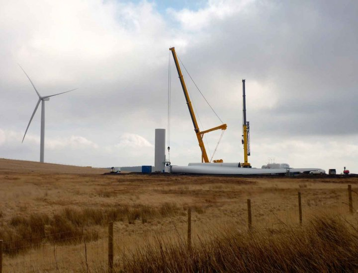 Wind turbine to be erected above Cynon Valley