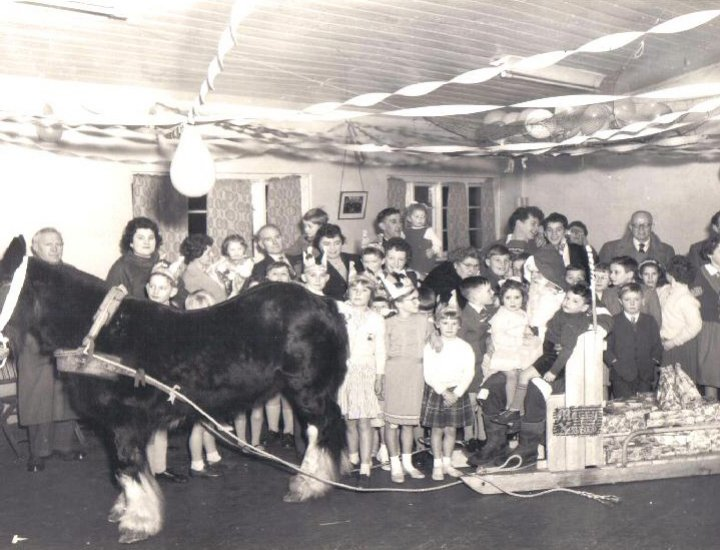 Rhigos colliery childrens Christmas party 1954 - 64