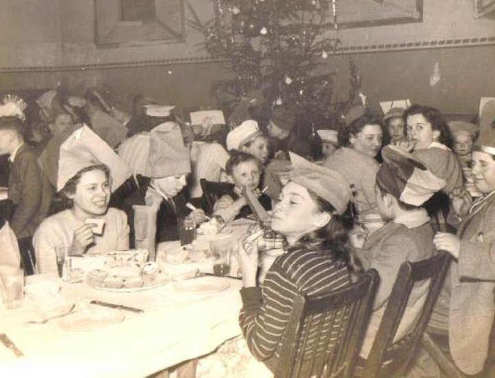 Bwlfa colliery Christmas party 1951/53