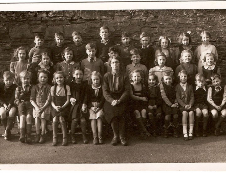 Aberaman Primary School - 1949