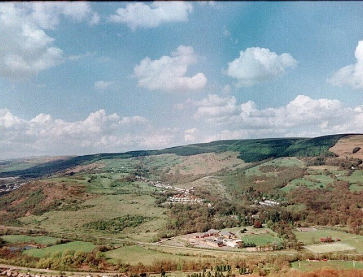 The Hospital Site before work started next to Mountain Ash Comprehensive School