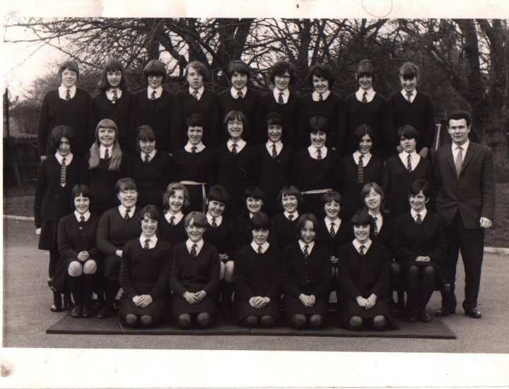 form 2 Aberdare Girls Grammar School, c.1964/65