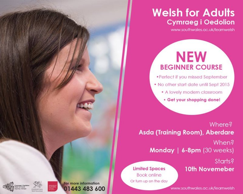 Welsh for Adults in Aberdare