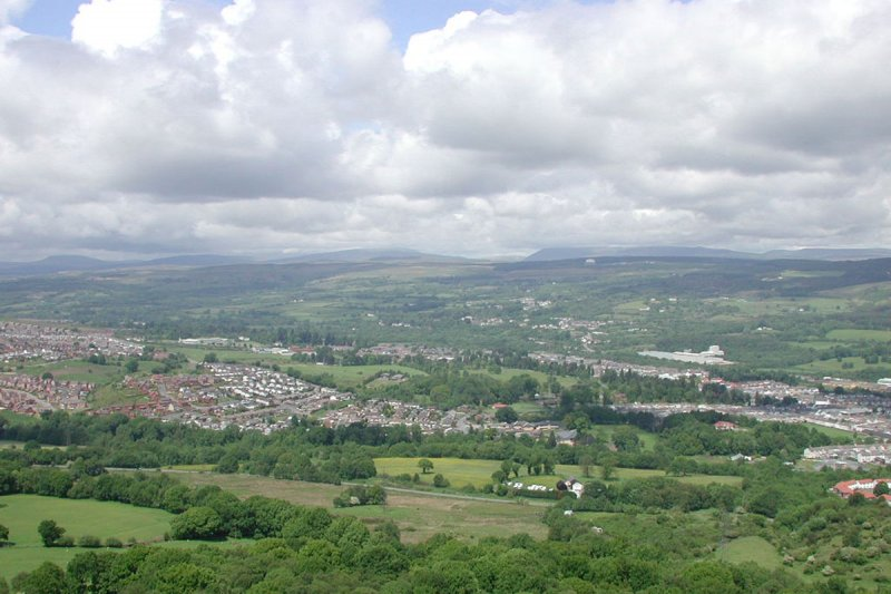 Cynon Valley from the Graig
