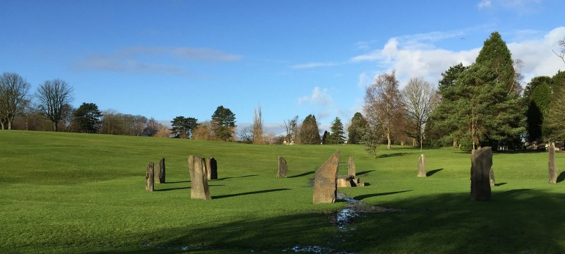 Gorsedd Circle at Aberdare Park